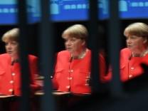 Bundeskanzlerin Angela Merkel bei IHK