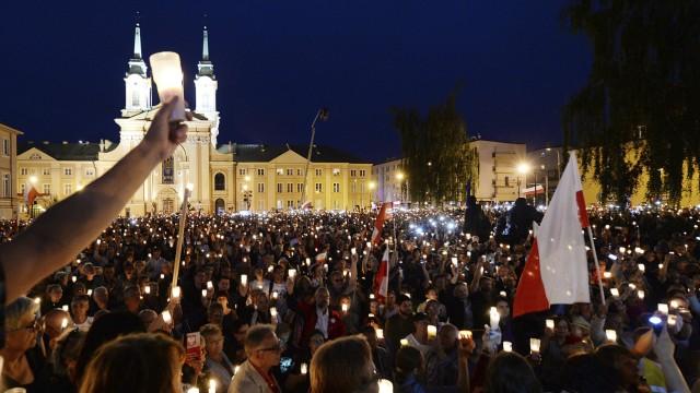 Jarosław Kaczyński Justizreform