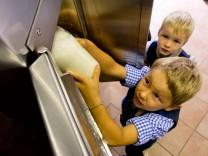 Milch aus dem Automaten