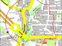 Karte Fliegerbombe Obermenzing