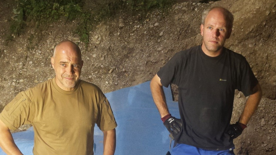 Fliegerbombe Bombenfund in Obermenzing
