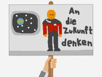 Plakate zur Bundestagswahl von SZ.de-Lesern f¸r das Democracy Lab