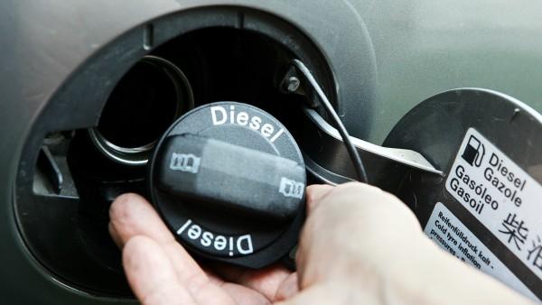 Diesel-Schriftzug Tankdeckel