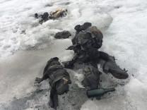 Leichen im Eis gefunden