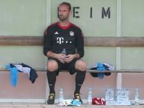 Tom Starke FC Bayern Muenchen nach seiner Auswechslung BCF Wolfratshausen vs FC Bayern Muenchen