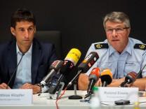 Pressekonferenz zu Vorfällen in Schorndorf
