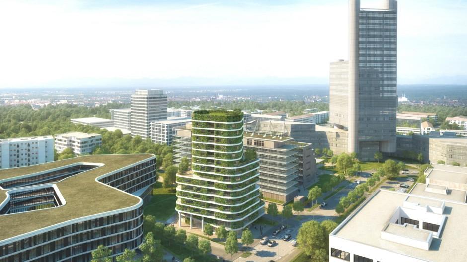 Architektur in München Bebauungsplan
