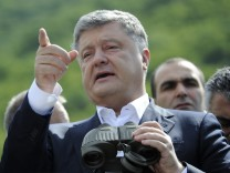 Präsident Poroschenko