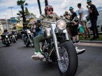 Harley Davidson Treffen in Lugano