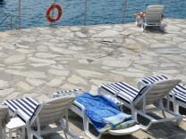 Der türkische Küstenort Antalya, Türkei