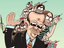 Caricature Kassel zeigt türkische Karikaturen