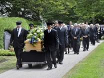 Gauting, Beerdigung Rainer Köhler