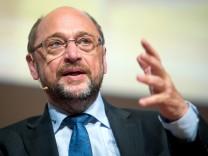 Podiumsdiskussion mit SPD-Kanzlerkandidat Schulz