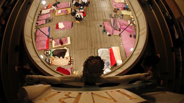 Kirchenasyl für Flüchtlinge