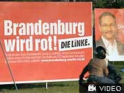 brandenburg Platzeck, SPD, Linke AP