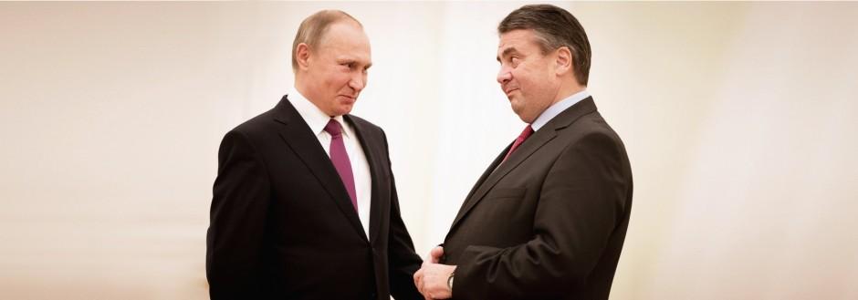 Antrittsbesuch von Außenminister Sigmar Gabriel in Russland
