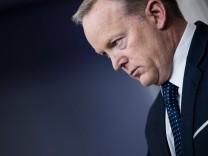 Trumps ehemaliger Pressesprecher Sean Spicer