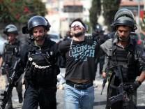 Unruhen in Jerusalem