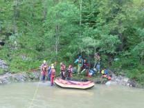 Bergwacht rettet österreichische Gruppe an der Walchen am 22. Juli 2017