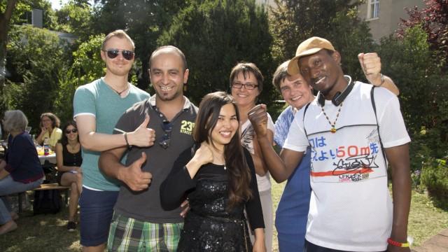 München: Ehrung von Flüchtlingen / Berufsbildung