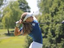 Die 14-Jährige Golferin Chiara Horder aus Vaterstetten