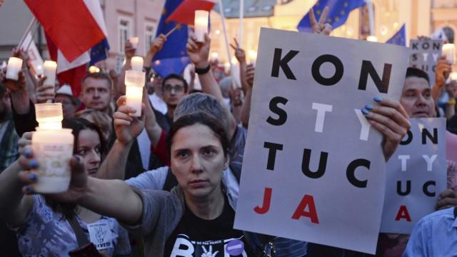 Justizreform in Polen Polen