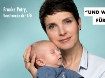 Wahlplakat Frauke Petry