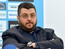 Hasan ISMAIK Investor und Aufsichtsratsvorsitzender 1860 Muenchen Einzelbild angeschnittenes Einz; Ismaik