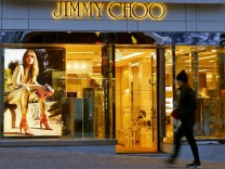 FILE PHOTO: A store of shoe designer Jimmy Choo is seen in St. Moritz