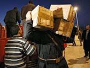 Hilfslieferungen Gaza-Krieg; AP