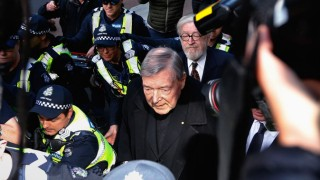 Cardinal George Pell Attends Court To Face Historical Child Abuse Charges