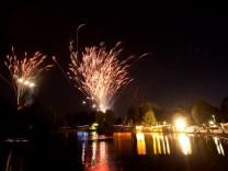 Feuerwerk beim Münchner Sommernachtstraum, 2013