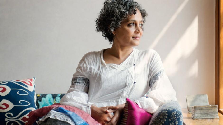 Literatur Schriftstellerin Arundhati Roy im Gespräch