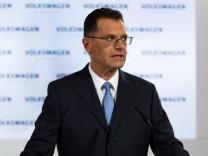 Außerordentliche Aufsichtsratssitzung bei Volkswagen