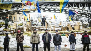 Ukraine Protests Continue As Financial Deal Hangs In The Balance