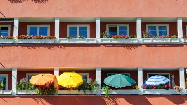 Immobilien Städte im Sommer