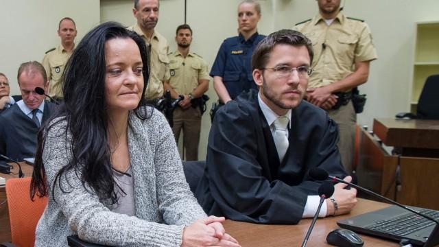 Beate Zschäpe - NSU-Prozess vor dem Oberlandesgericht München
