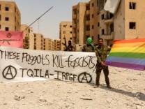 Regenbogen-Raqqa