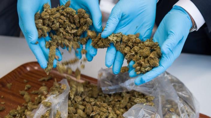Pk zu Sicherstellung einer halben Tonne Marihuana