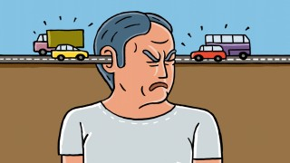 Illustration Verkehrslärm