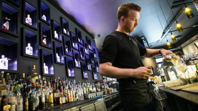 Bar Bapas an der Leopoldstraße 56A
