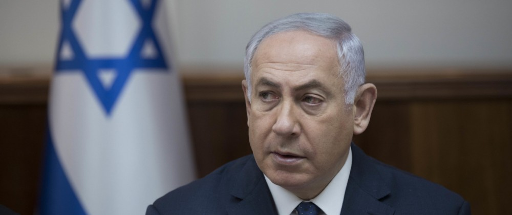 Netanjahu bei Kabinettssitzung