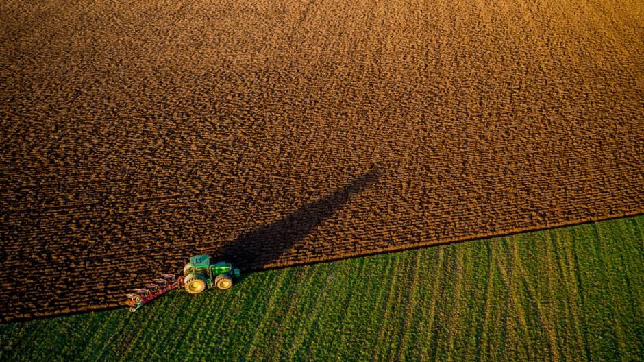 Frühjahrsarbeiten in der Landwirtschaft