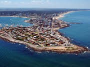 Promitreff in Uruguay, Das Sylt Südamerikas; AFP