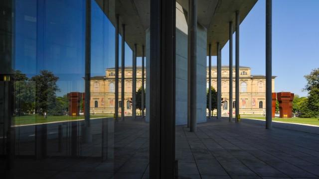 Alte Pinakothek und Pinakothek der Moderne in München, 2013