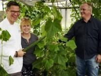 Olching: GEMEINSAM ACKERN -  Restaurant Broeding + Polizei