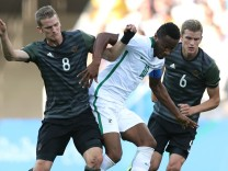 Nigeria vs Germany - Semi Final: Men's Football - Olympics: Day 12; Sven Bender und Lars Bender