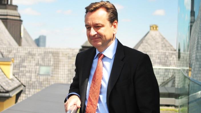 CEO Joachim Wenning, Munich RE
