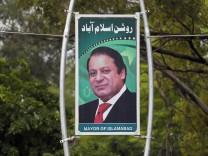 Pakistans Ministerpräsident seines Amtes enthoben