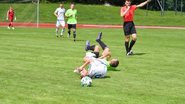 Regionalsport FC Ismaning gegen BCF Wolfratshausen
